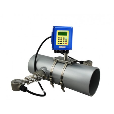 Hot-tapped Ultrasonic Flow Meter