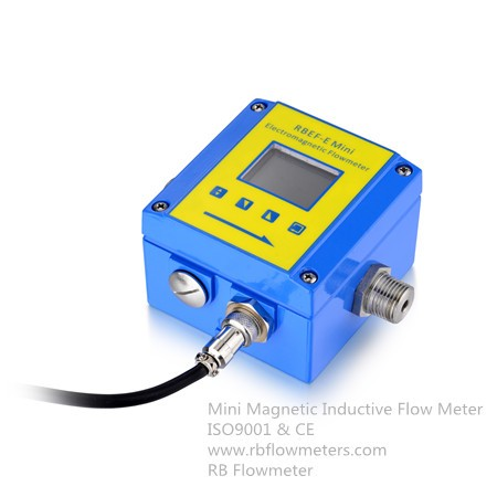 Mini Low Flow Inductive Magnetic flowmeter