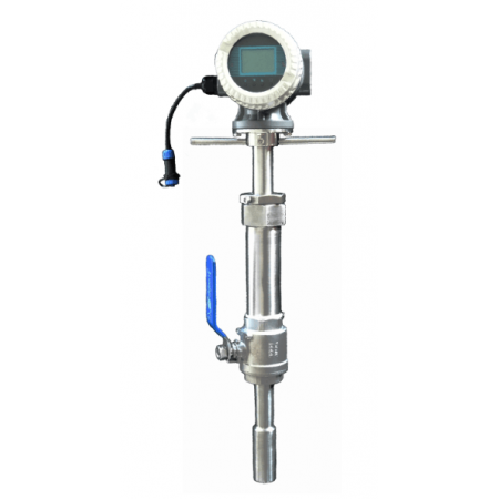 Insertion Hot-tapped Magnetic Flow Meter