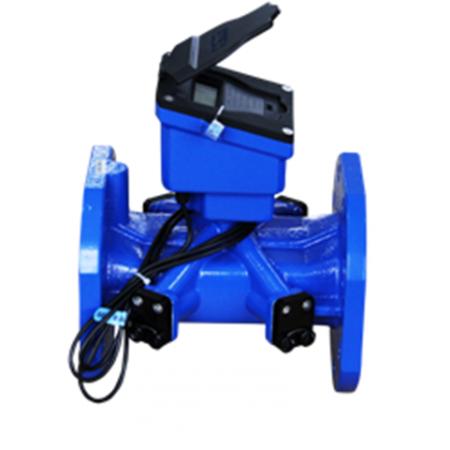 Ultrasonic bulk water meter